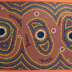 Aboriginal Dot Paintings Group Picture Image Tag