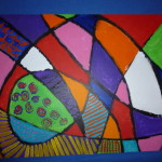 Abstract Acrylic Painting Veffect Deviantart