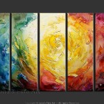 Abstract Art Nonobjective Painting Stargate