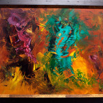 Abstract Artist Selling Original Acrylic Paintings
