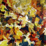 Abstract Expressionist Autumn Sky Audrey Flack Wikipaintings