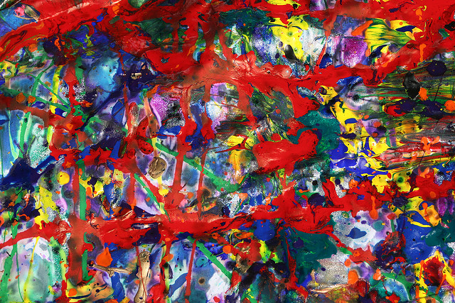Abstract Expressionist Painting Flickr Sharing