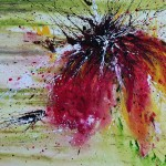 Abstract Flower Painting Fine Art Print