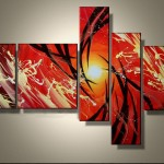 Abstract Hand Paintings