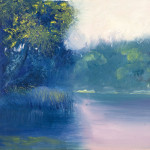 Abstract Impressionist Landscape Oil Painting Brad Rickerby