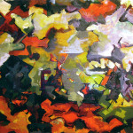 Abstract Landscape Audrey Flack Wikipaintings