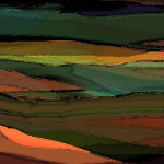 Abstract Landscapes Artist Journal