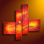 Abstract Oil Painting Canvas China Scenery