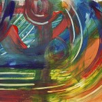 Abstract Oil Paintings Color Field