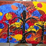Abstract Painting Trees Case Deviantart