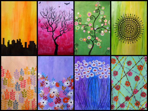 Abstract Paintings For Sale India Online