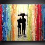 Abstract Paintings People Modern