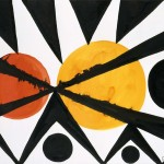Across The Orange Moons Alexander Calder Wikipaintings
