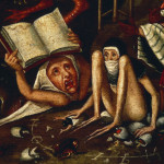 After Bosch Hell Detail Hieronymus Art Print