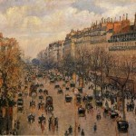 Afternoon Sunlight Camille Pissarro Oil Painting Reproduction