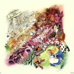 Alice Wonderland Art Disney Love Pretty Image