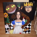 Alice Wonderland Art Fallenintoshadows Traditional Paintings