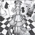 Alice Wonderland Art More Less Craft