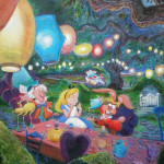 Alice Wonderland Painting Flickr Sharing