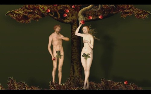 All Seasons Opening Credits Adam And Eve Snakes Apples Jpeg