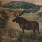 Allroutes Moose River Lake Lodge Store Paintings Philip
