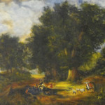 Amazing Oil Paintings Old Farms