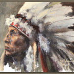 American Indian Painting Renee Buller Wildlife And Nature Artist