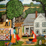 American Primitive Paintings Group Picture Image Tag