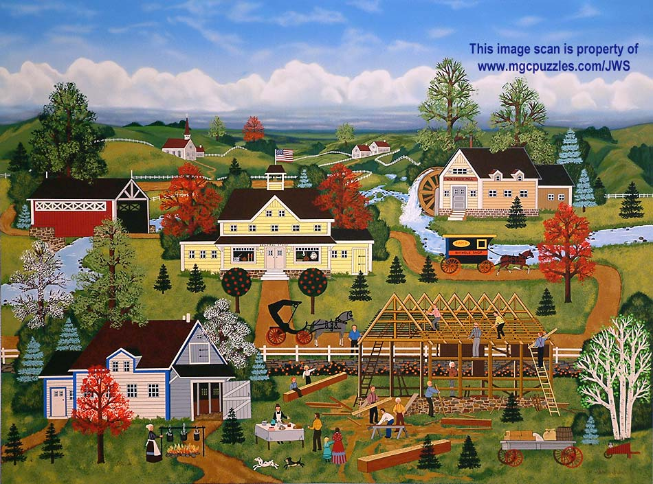 Amish Paintings