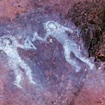 Ancient Cave Painting Astronauts