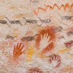 Ancient Cave Paintings Patagonia Southern Argentina