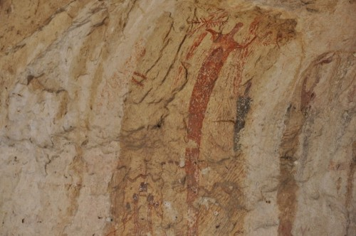 Ancient Cave Paintings Seminole Canyon Texas Visual Evidences