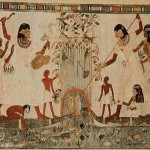 Ancient Egypt Painting Minor Arts And Music