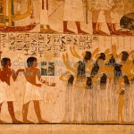 Ancient Egyptian Paintings Egypt Primary Colors