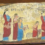 Ancient Greek Paintings From Pitsa The Sacrifice