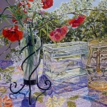 And Janet Fish Painting Summer Glass