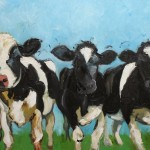 And Love Her Cheerful Paintings The Cows Are Especially Friendly