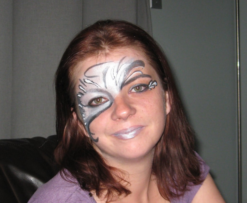 And Other Ramblings Crazy Beautiful Mind Face Painting