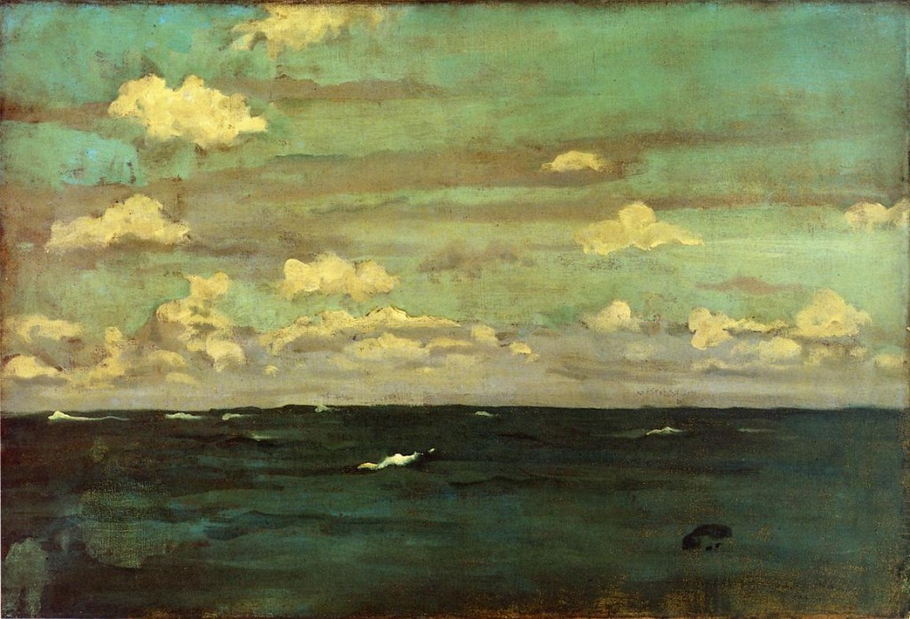 And Silver The Deep Sea James Mcneill Whistler Wikipaintings