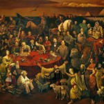 And Zhang Oil Canvas List People Famous Painting