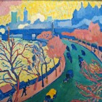 Andr Derain Pont Charing Cross London