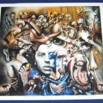 Andre Breton Shahla Rosa Rare Limited Edition Handsigned Print