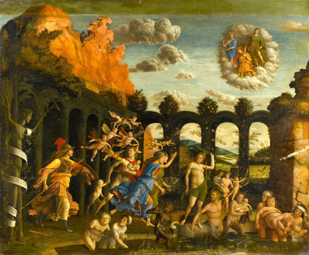 Andrea Mantegna Minerva Expelling The Vices From Garden Virtue