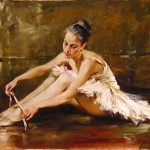 Andrew Atroshenko Before The Dance Painting