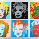 Andy Warhol Art Print Hand Painted Oil