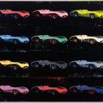 Andy Warhol Painting Fangio Merc For Sale Bbc Top Gear