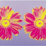 Andy Warhol Paintings Daisy Double Pink Painting