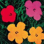 Andy Warhol Paintings Flowers Painting
