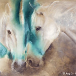 Ang Paintings Animal Horses Painting