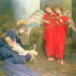 Angels Entertaining The Holy Painting